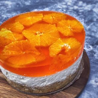 Aperol no bake cheesecake